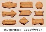 Wooden Cartoon Boards. Rustic...