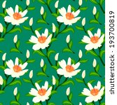 floral seamless vector pattern... | Shutterstock .eps vector #193700819