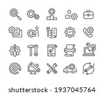repair icons   vector line... | Shutterstock .eps vector #1937045764