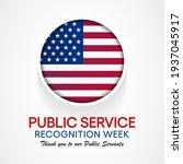 public service recognition week ... | Shutterstock .eps vector #1937045917