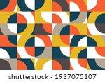geometry minimalist artwork... | Shutterstock .eps vector #1937075107