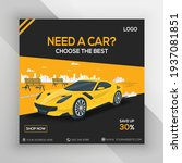 rent car for social media... | Shutterstock .eps vector #1937081851