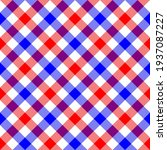 Red  White And Blue Diagonal...