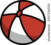 baby rubber ball icon. editable ...