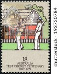 australia   circa 1977  a stamp ... | Shutterstock . vector #193720784