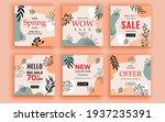 set of sale banner template...   Shutterstock .eps vector #1937235391