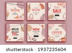 set of sale banner template...   Shutterstock .eps vector #1937235604