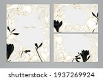 set of vector greeting cards... | Shutterstock .eps vector #1937269924