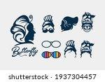 messy bun  creative design... | Shutterstock .eps vector #1937304457
