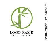 bamboo logo template vector...   Shutterstock .eps vector #1937306374