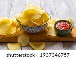 Potato Chips Or Crisps  Popular ...