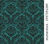 damask seamless vector pattern. ...   Shutterstock .eps vector #1937351284