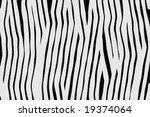 imitation of colour of a zebra | Shutterstock . vector #19374064