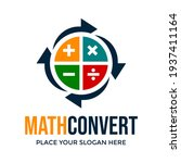 math convert or accounting... | Shutterstock .eps vector #1937411164