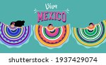 viva mexico  independence day ... | Shutterstock .eps vector #1937429074