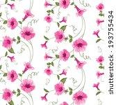 design of vintage floral card.... | Shutterstock .eps vector #193755434