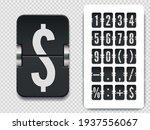 flip number and symbol...