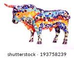 Miniature Multicolored Statue...