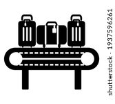 luggage conveyor icon in modern ... | Shutterstock .eps vector #1937596261