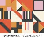 scandinavian inspired artwork... | Shutterstock .eps vector #1937608714