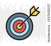business goal  target or aim... | Shutterstock .eps vector #1937620237