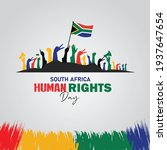 human rights day. of south... | Shutterstock .eps vector #1937647654