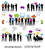Vector Of Business And Social...
