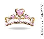 Princess Crown Or Tiara With...