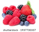 Berries Collection Isolated On...