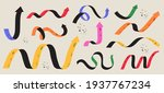 various colorful playful arrow... | Shutterstock .eps vector #1937767234