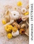 Dry Autumn Flowers  Oriental...