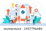 startup new business project.... | Shutterstock .eps vector #1937796484