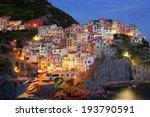 night manarola. italy | Shutterstock . vector #193790591