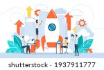 startup new business project.... | Shutterstock . vector #1937911777
