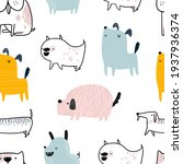 vector hand drawn color... | Shutterstock .eps vector #1937936374