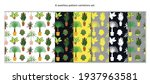 seamless patterns set with...   Shutterstock .eps vector #1937963581