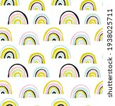 vector seamless pattern with... | Shutterstock .eps vector #1938025711