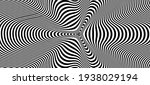 Abstract Hypnotic Pattern With...