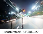 car on the road with motion... | Shutterstock . vector #193803827