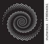 abstract openwork spiral design ...