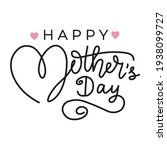 happy mother's day greeting... | Shutterstock .eps vector #1938099727