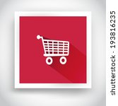 icon of shopping cart for web...
