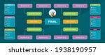 match schedule  template for... | Shutterstock .eps vector #1938190957