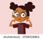 strong healthy happy girl... | Shutterstock .eps vector #1938226861