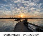 Sunset At Lake Clifton  Western ...