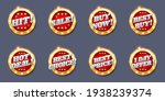 sale glossy round badge  tag ... | Shutterstock .eps vector #1938239374