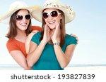 portrait happy young attractive ... | Shutterstock . vector #193827839