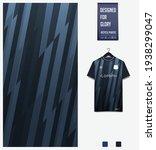 soccer jersey pattern design.... | Shutterstock .eps vector #1938299047