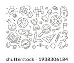 puzzle and riddles. set of...   Shutterstock .eps vector #1938306184