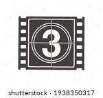 silhouette of film strip part...   Shutterstock .eps vector #1938350317